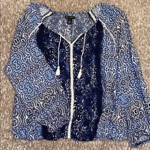 Women's peasant blouse